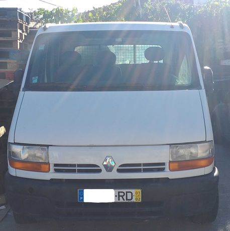 Renault Master – Cabine dupla 7 lugares