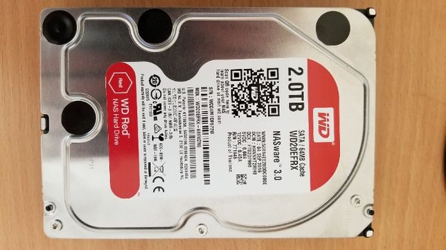 Жёсткий диск WD Western Digital Red Pro 2Tb