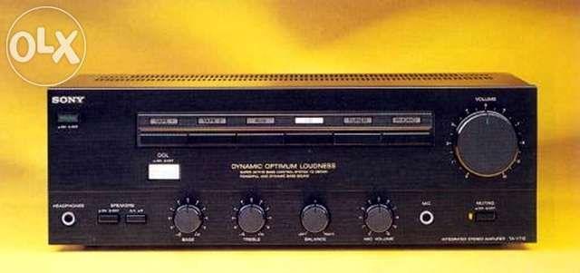 Amplificador SONY TA-710
