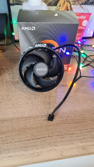 AMD Wraith Spire, chłodzenie procesora RYZEN 5 3600