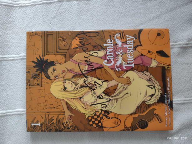 Carole & Tuesday tom 1 | manga | mangi | komiks | książka