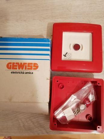 GW42201 Wyłącznik ppoż. bezpieczeństwa Gewiss