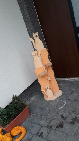Figura koty figurka regał szafka dekoracja dla dzieci