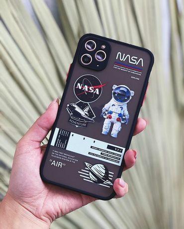 Противоударный чехол NASA iPhone 6/S/7/8/Plus/X/XS/XR/11/Pro/Max айфон