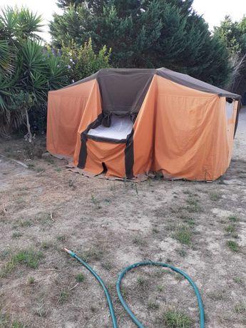 atrelado Reboque, relote auto-tenda