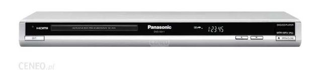 Odtwarzacz DVD PANASONIC CD DVD-S511 HDMI + pilot !