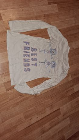 Bluzeczka z długim rękawem 128cm