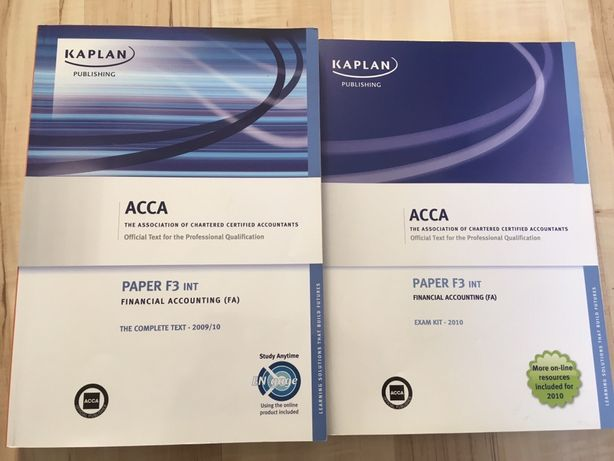 ACCA Financial Accounting FA F3 INT