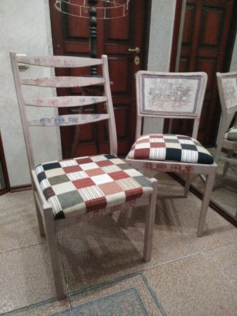 Покраска мебели реставрация стульев