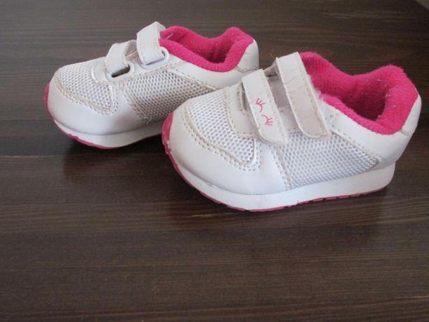 Dziewczęce buty sportowe używane rozmiar 19