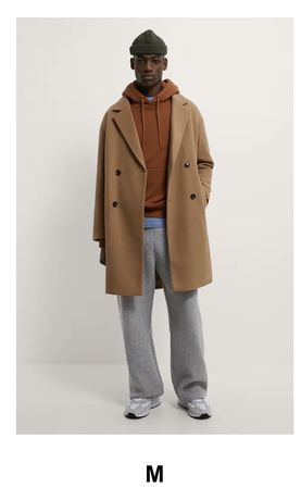 Spodnie dresowe, flanelowe szerokie Rozmiar M