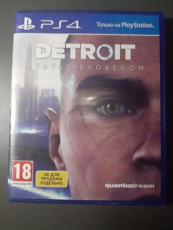 Диск Detroit на PS4