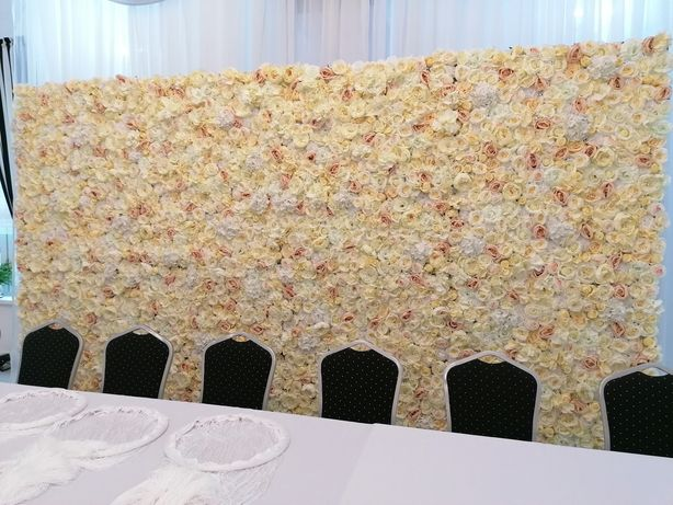 Ścianka kwiatowa 4 metry