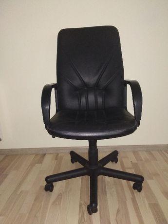 Fotel skórzany menager