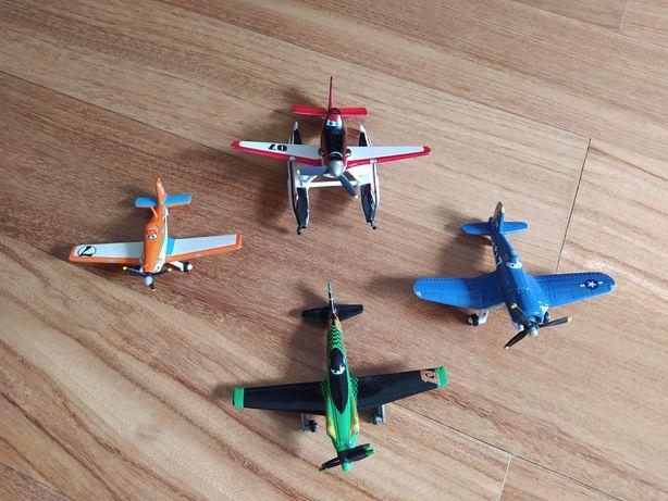 """Miniaturas do filme """"Aviões"""""""