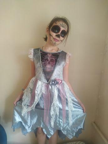 Платье на Halloween party. Платье карнавальное 9-11 лет девочке
