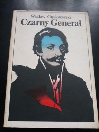 Czarny Generał 1987 romans historyczny GĄSIOROWSKI