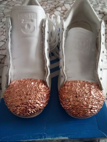 Кроссовки Adidas superstar 80s 3d metal