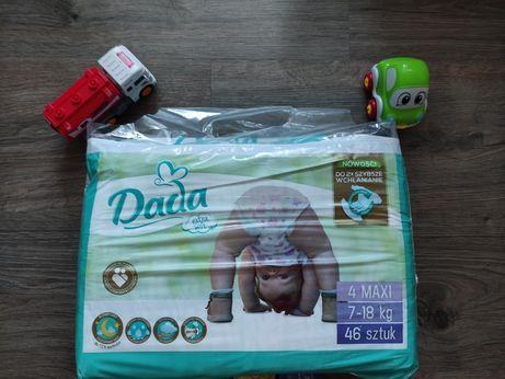 Подгузники Dada Extra soft размер 4 Maxi, 46шт. Польські підгузки Дада