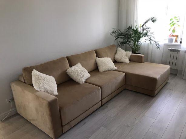 Угловой  шикарный диван