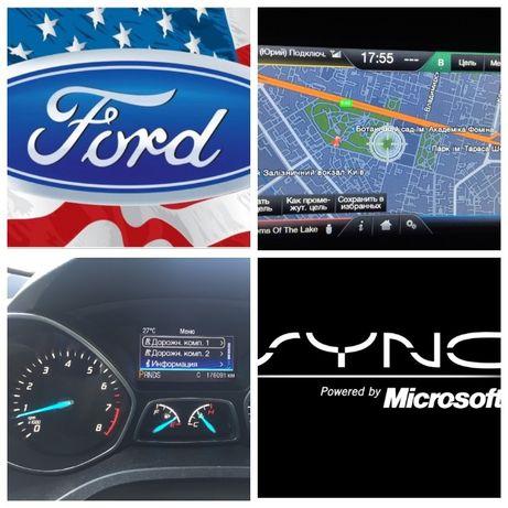 Русификация Ford Навигация, Форд, Fusion/Edge/Escape/Lincoln прошивка