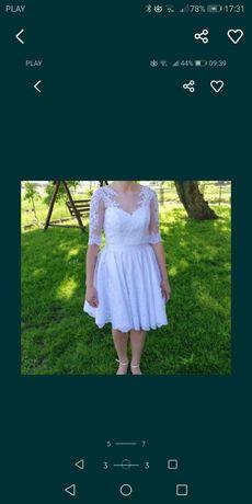 Suknia poprawionowa ślubna