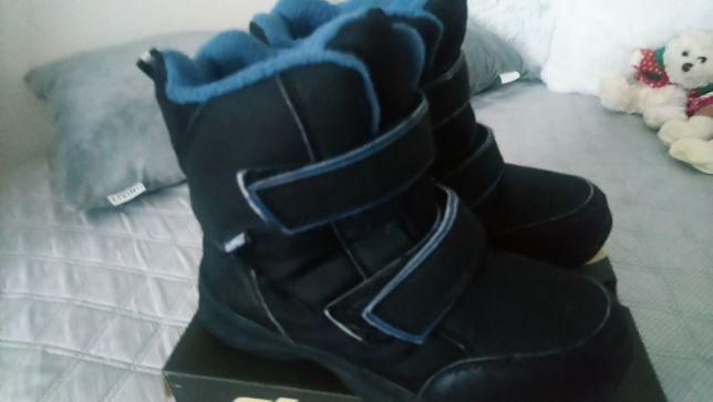 Buty zimowe wysokie za kostkę 32 rozmiar wkladka 19,5