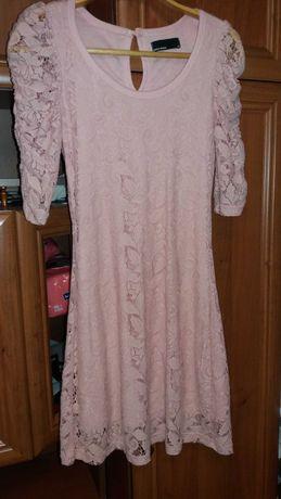Плаття ніжно-розового кольору
