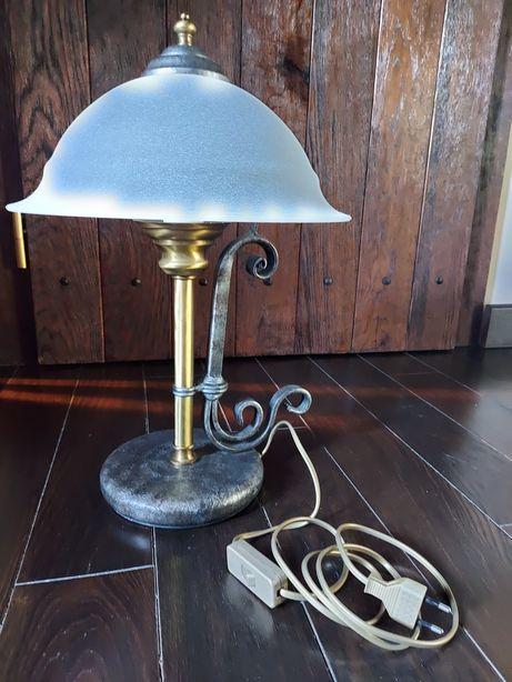Lampa stojąca biurkowa Włoska - wyjątkowa komplet