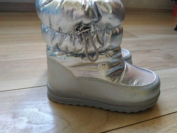 Buty zimowe r.27 śniegowce