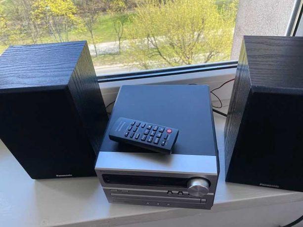 Wieża panasonic SA-PM250, 2 głośniki, bluetooth, radio, odtwarzacz CD