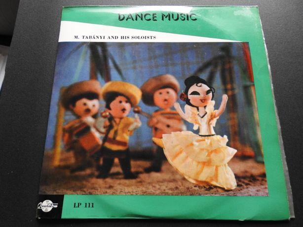 "Płyta winylowa 10"" Dance Music M. Tabanyi and his soloists, tango,"