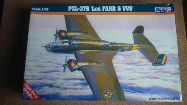 Model PZL - 37B łoś