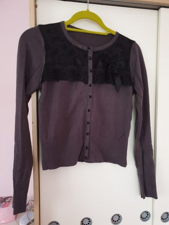 Sweter Simple r. 36 grafitowy