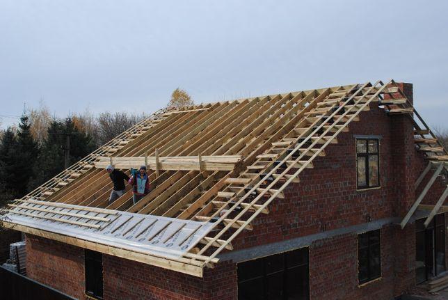 Кровельные работы. Строительство крыши с нуля под ключ. Ремонт крыши