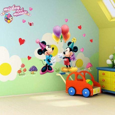 Adesivo Decalques da Parede Mickey e Minnie