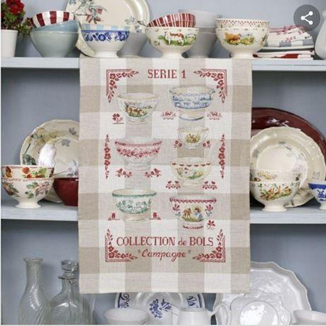 Полотенца, скатерть, кухня Французская вышивка