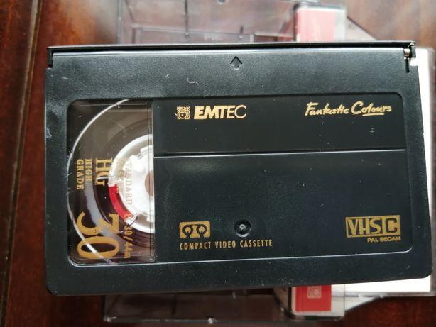 Kaseta VHS-C do kamery - do nagrywania