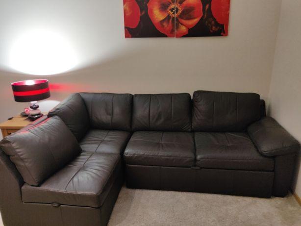 Sofá cama com chaise lounge napa