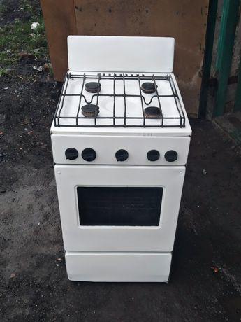 Газовая плита на 4 комфорки / газовая печь / газовая печка