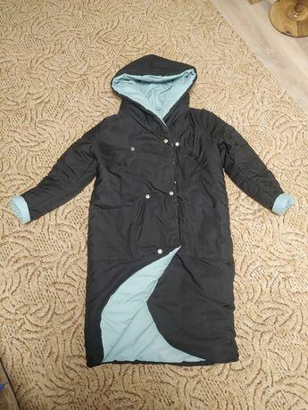 Продам пальто холодная осень- теплая зима р-р 48-50