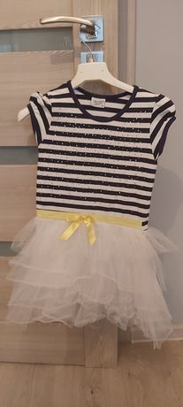 Sukienka z tiulem rozm 128