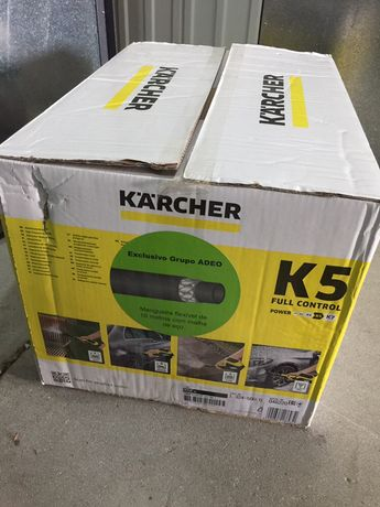 Máquina lava jato Karcher K5 nova em caixa nunca aberta
