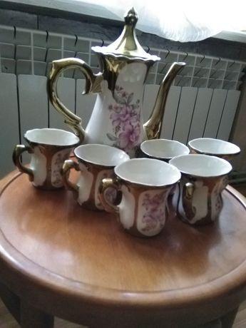 Набор для кофе,чашки кофейник
