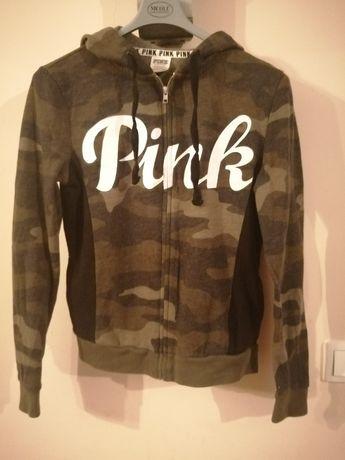 Bluza z kapturem Pink Victoria Secret, rozmiar XS