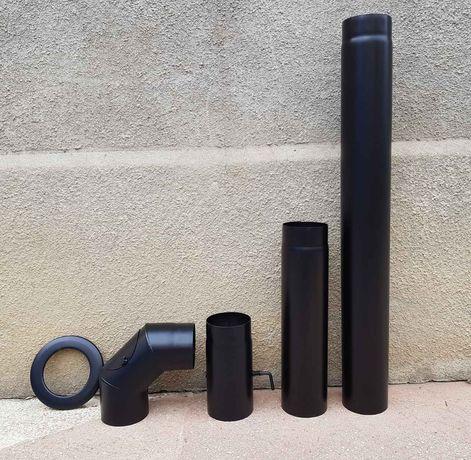 радіатор труба коліно колено шибер радиатор комплектуюч до каміна