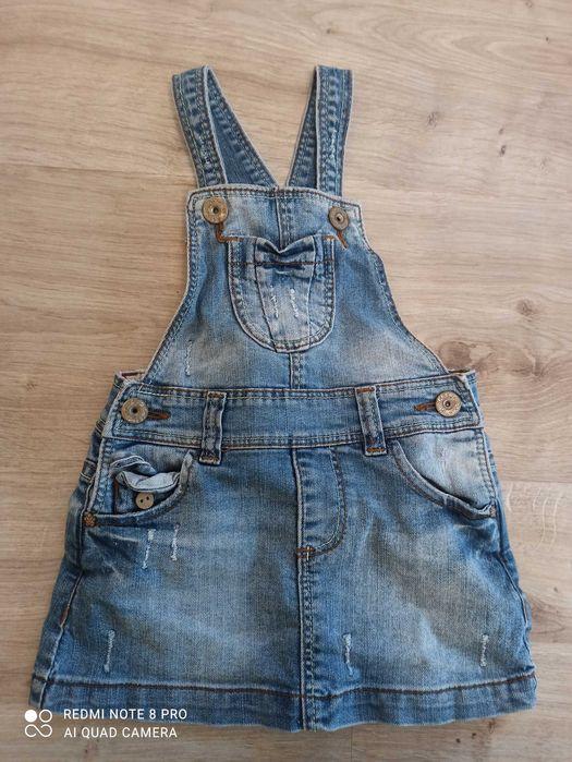 Детский джинсовый сарафан Zara 12-18 месяцев Одесса - изображение 1