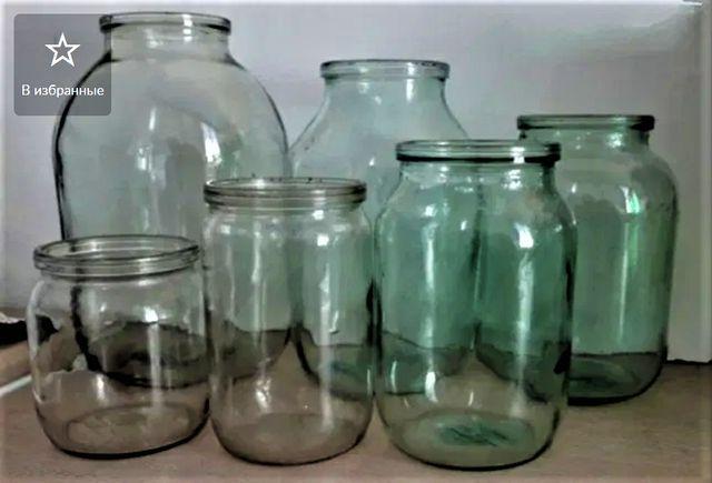 стеклянные банки 0,5 литра 1 литр