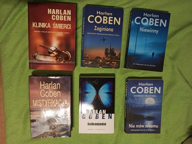 Powieści kryminalne Harlan Coben stan bardzo dobry