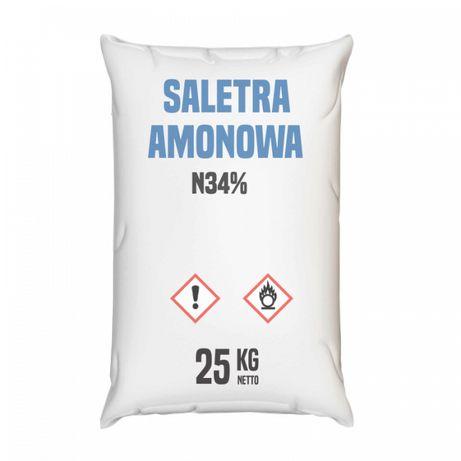 Saletra amonowa 34% worek 30 kg - wysyłka kurierem